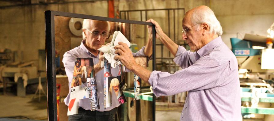 Artiste, sculpteur de miroirs