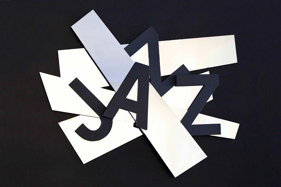Jazz, musique, tableau Miroir,