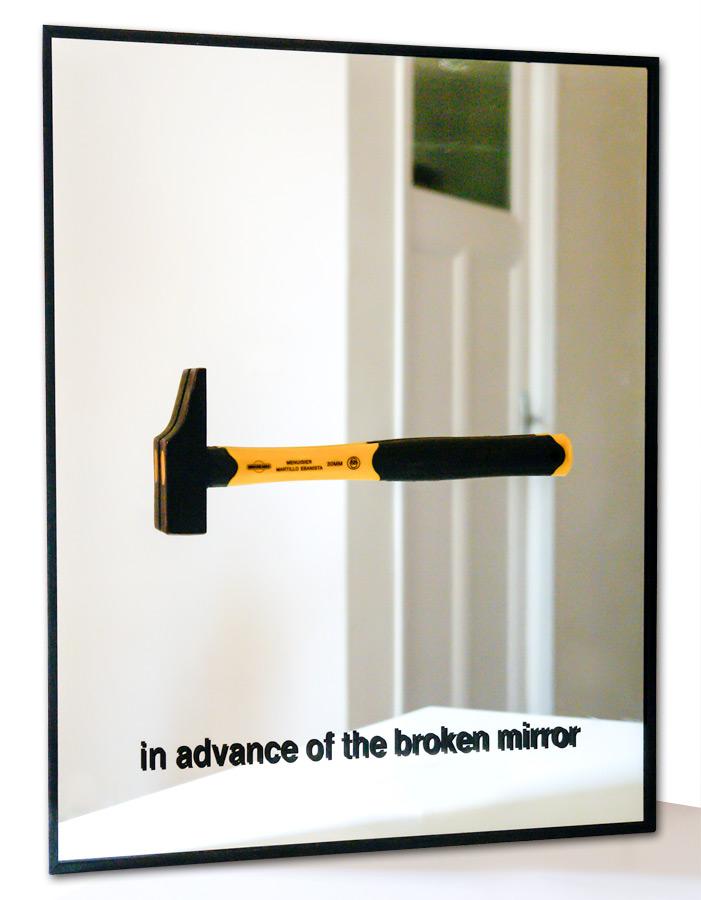mirror, Taride, hommage Duchamp,